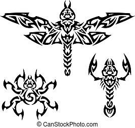 insetti, tatuaggi
