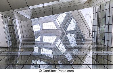furturistic room