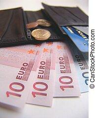 Inside a Wallet