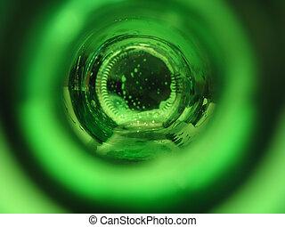 Inside Beer bottle