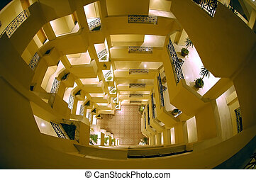 Inside hotels