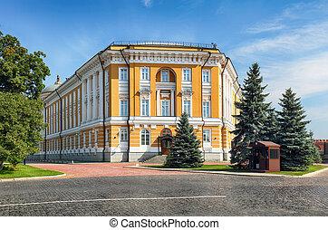 Inside in Kremlin, Moscow Russia