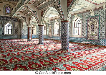 Inside Manavgat mosque