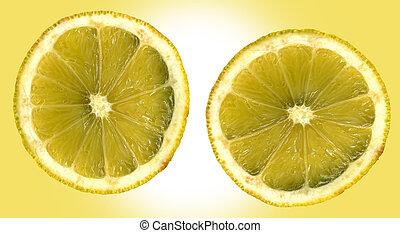 Inside of a Lemon