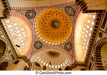 Inside of Mosque  - Istanbul