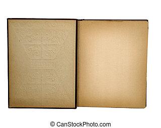 scrapbook - inside of old scrapbook