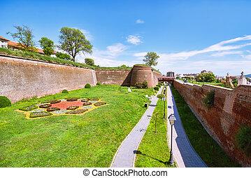 Alba Carolina Citadel - Inside of Romanian Fortress  - Alba ...