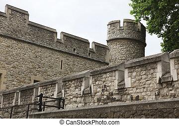 Inside of Tower in London, UK