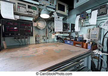 Inside of warship