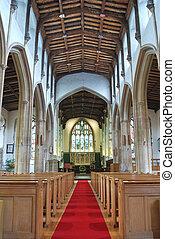 inside parish Church