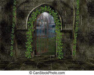Inside Sanctuary Background