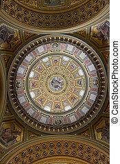 Inside the St Stephen's Basilica - The Saint Stephen's...
