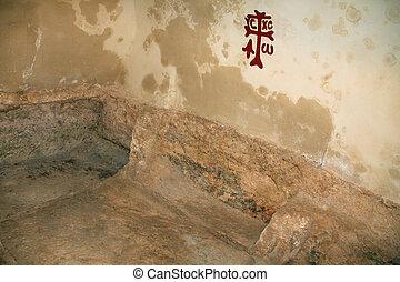 Inside the Tomb of Jesus In Jerusal