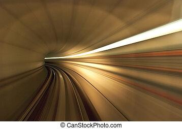 Inside Tunnel
