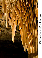 Cango Caves in Oudtshoorn South Africa. African landmark