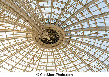 Modern Dome Structure - Inside View Of Modern Dome Structure