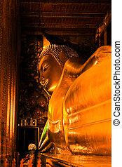 Inside Wat Pho Church