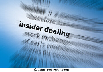 Insider Dealing is the illegal practice of trading on the...