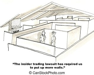"""Insider Trading - """"The insider trading lawsuit has required ..."""