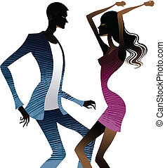 insieme, ballare coppie
