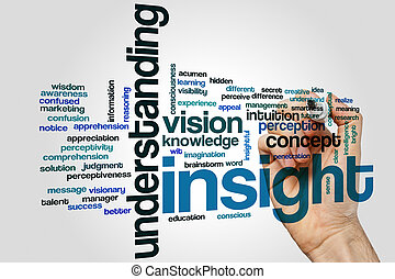 Insight word cloud concept - Insight word cloud