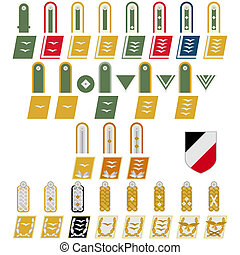 insigne, armee allemande