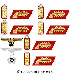 insigne, généraux, wehrmacht
