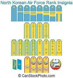 Insignia Air Force North Korean arm