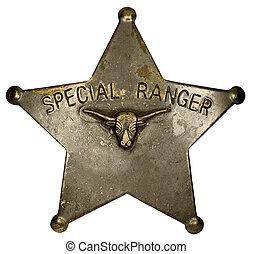 insignia guardabosques, especial