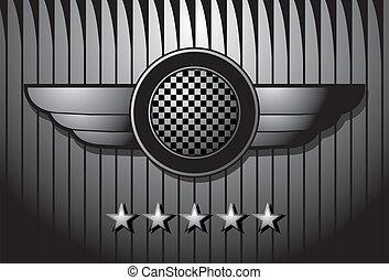 insignia, logotipo, /