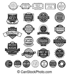 Insignia stamp set