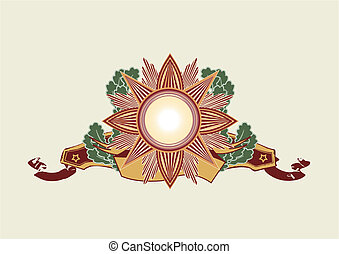 Insignia -  star shaped
