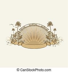 insignia, tropical