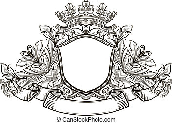 insignia - black and white emblem, all the elements are...
