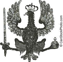insignia, vetorial, formato