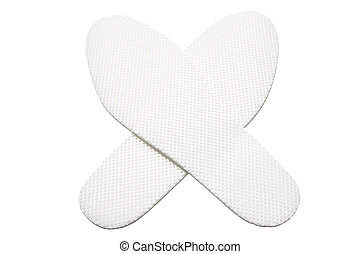 Insoles on White Background
