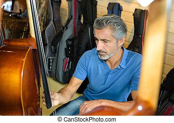inspeccionando, cello