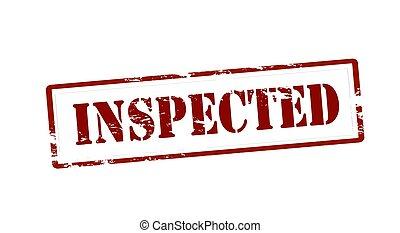 inspecté