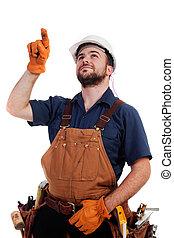 inspecteren, de, werk