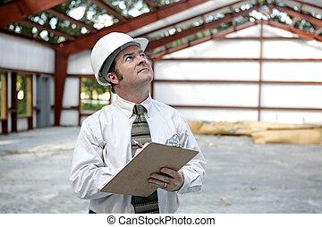inspecteur, bâtiment