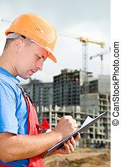 inspecteur, bouwsector, gebied