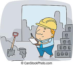 inspecteur, construction