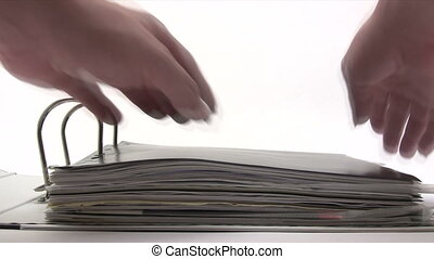 Inspecting Contract - Canon HV30. HD 16:9 1920 x 1080 @...
