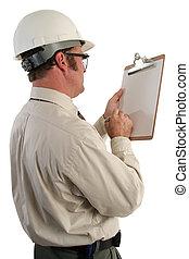 inspektor, zbudowanie, 5