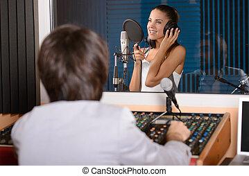 Inspelning,  studio