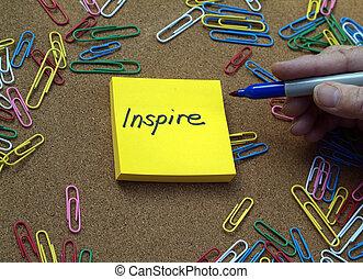 inspiração, conceito