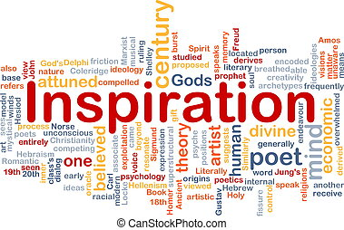 inspiração, fundo, conceito