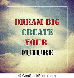inspiração, motivação, citação