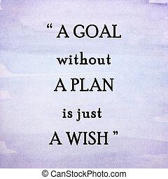 inspirador, motivar, plano de fondo, acuarela, cita