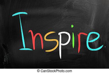inspirando, concetto